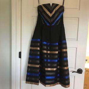 Shoshana Midnight Cocktail Dress - Size 6